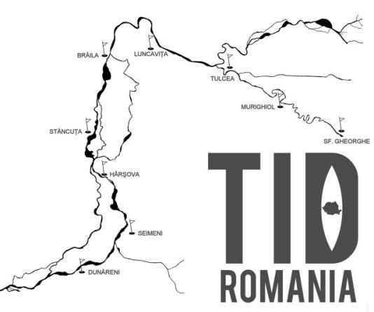 Harta TID Romania