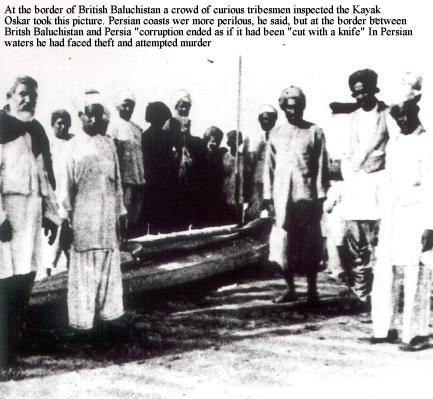 Oskar in Baluchistanul Britanic