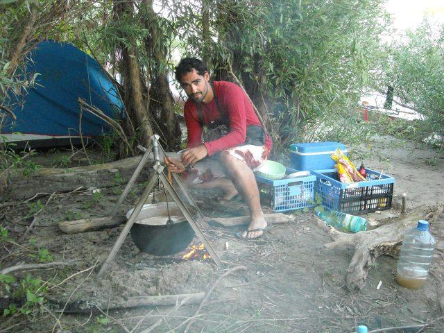 Preparing the soup... ;o)
