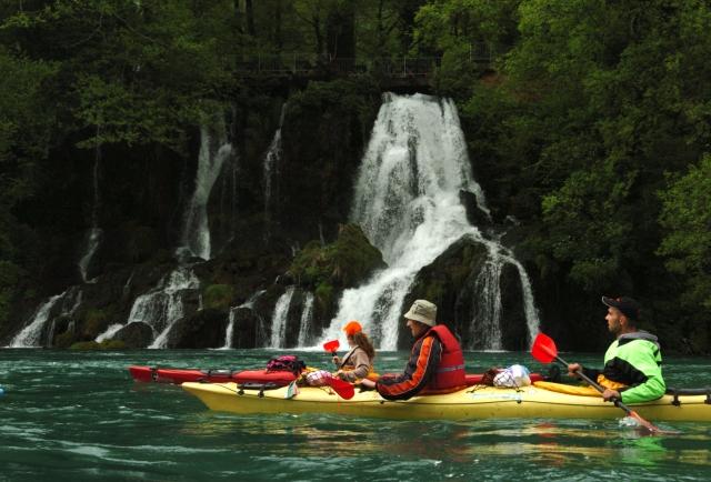 Kayaking Drina