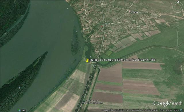 Noul loc de campare Seimeni - Dunărea
